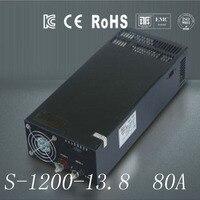DC13.8V 80A 1200W Switching Switch Power Supply unit Transformer 240v 110v AC DC Universal block power for LED Strip 3D Print