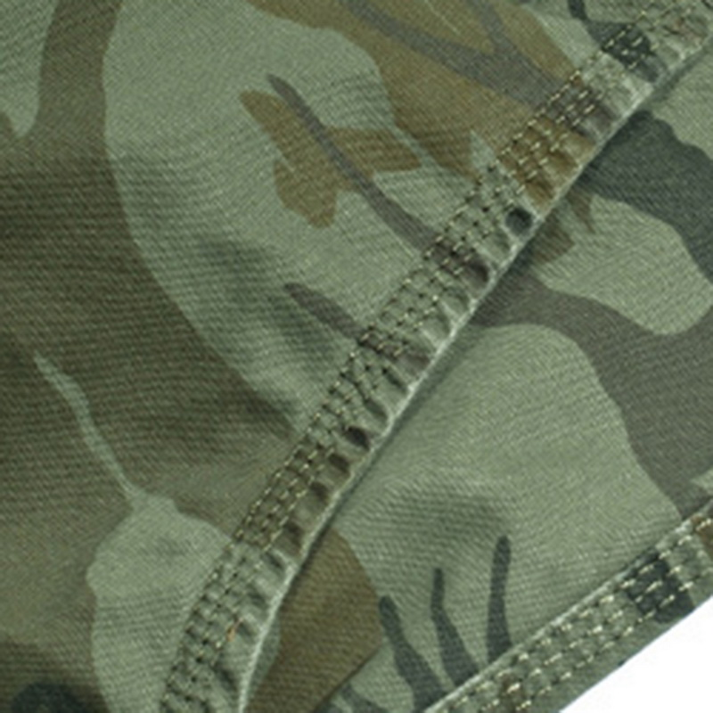 Vertvie Summer Men Running Shorts Multi-pocket Camouflage Printed Mens Shorts Fitness Loose Knee-length Mens Cargo Shorts NoBelt