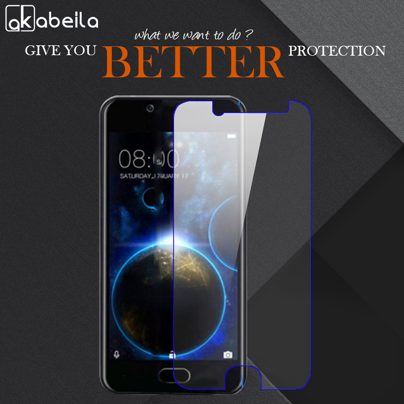 AKABEILA Phone Tempered Glass For Doogee Shoot 2 Shoot2 5.0 inch Tempered Glass Temperli Cam Steel Wholesale