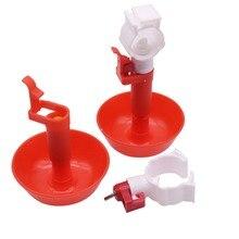 20 Sets Neue Hängen Tasse Nippel Trinker Wasser Rohr 25mm Spiel Huhn Vögel Tauben Universal Trinken Tasse