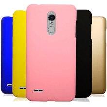 цена на Phone Case sFor Fundas LG K8 2018 Case For Coque LG K5 2017 K10 2017 LG K4 Q6 G3 G5 G7 Candy Color Hard Plastic PC cover Cases