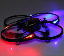 JXD393 RC Drone Lighting Air Drone 2.4G 4CH Remote Control Quadcopter helicoter Intruder UFO With Light fashion vs Matrix 1306