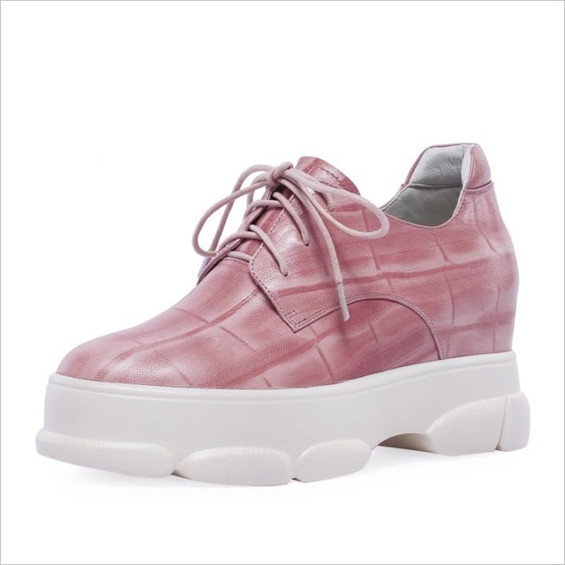Las Nueva Moda Del Mujeres Lazo Rosa Pie Redondo Dedo Primavera 2019 Negro De Casuales Zapatos Otoño Encaje Black pink Bombas nnaxvrT