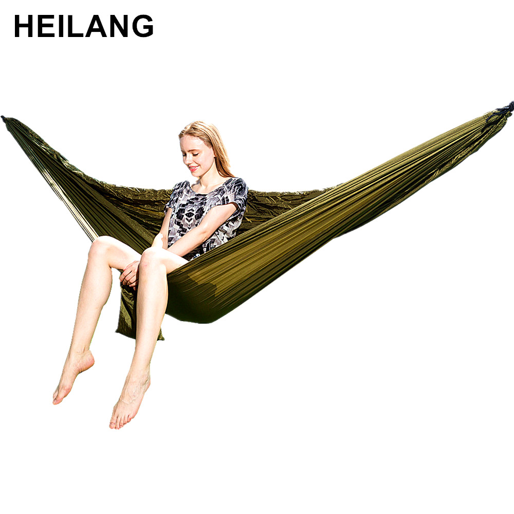 Large Parachute Hammock Portable Outdoor Survival Hamak Hanging Swing Sleeping Bed Chair For Garden Hunting Hamac Hangmat hamaca loof brand new fusion hair extension iron keratin bonding tool adjustable temperature fusion heat connector