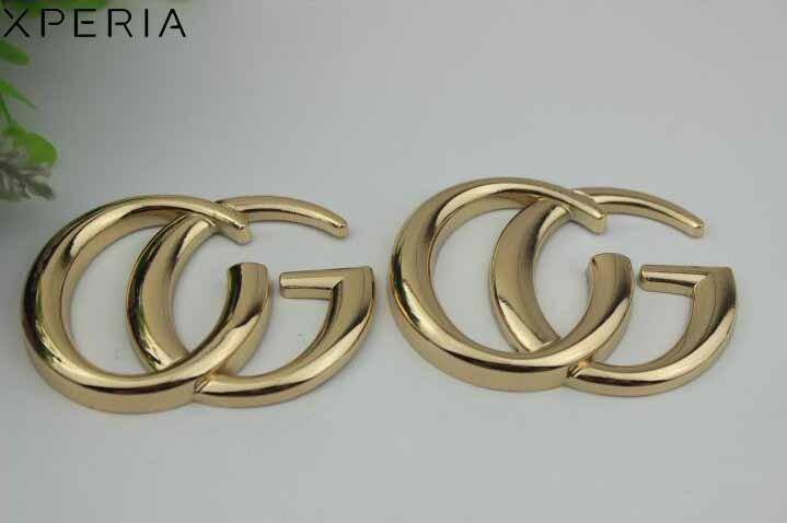 10pcs/lot Pale golden CG ornament clasp bag accessories decoration hardware large size pale pink