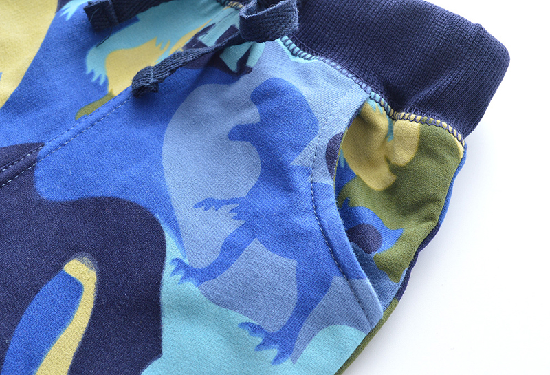 SAILEROAD Dinosaur Pattern Winter Pants for Boys Fall Children Sport Pants for Kids Clothes Baby Boys Sweaterpants for 6 Years 4