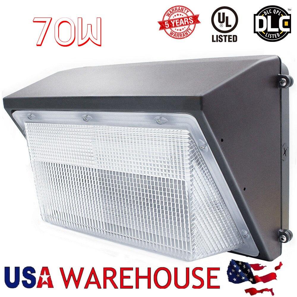 70 W Led Mur Pack Lumière 250-300 W HPS MH Ampoule Remplacement, 100-265 V Extérieure mur Lampe Projecteur Lumière USA Livraison Rapide