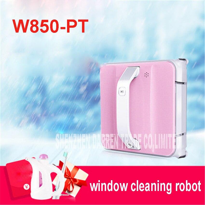 Fenêtre Cleaner Robot W850-PT Intelligente Plein Automatique Fenêtre De Nettoyage Robot, encadrée et Sans Cadre de Surface Deux Appliable