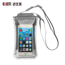 BUBM Transparent Practical Phone Waterproof Bag Underwater Seal Bag Swimming Pouch Convenience PVC Colorful Protective Pockets(China)