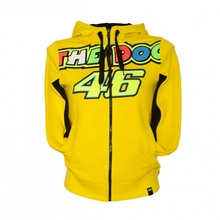 New Hot Two Style Fashion Valentino Rossi VR46 Motorcycle popular Hooded Sweater Jacket MOTO GP VR46 Yellow THE DOCTOR Jacket