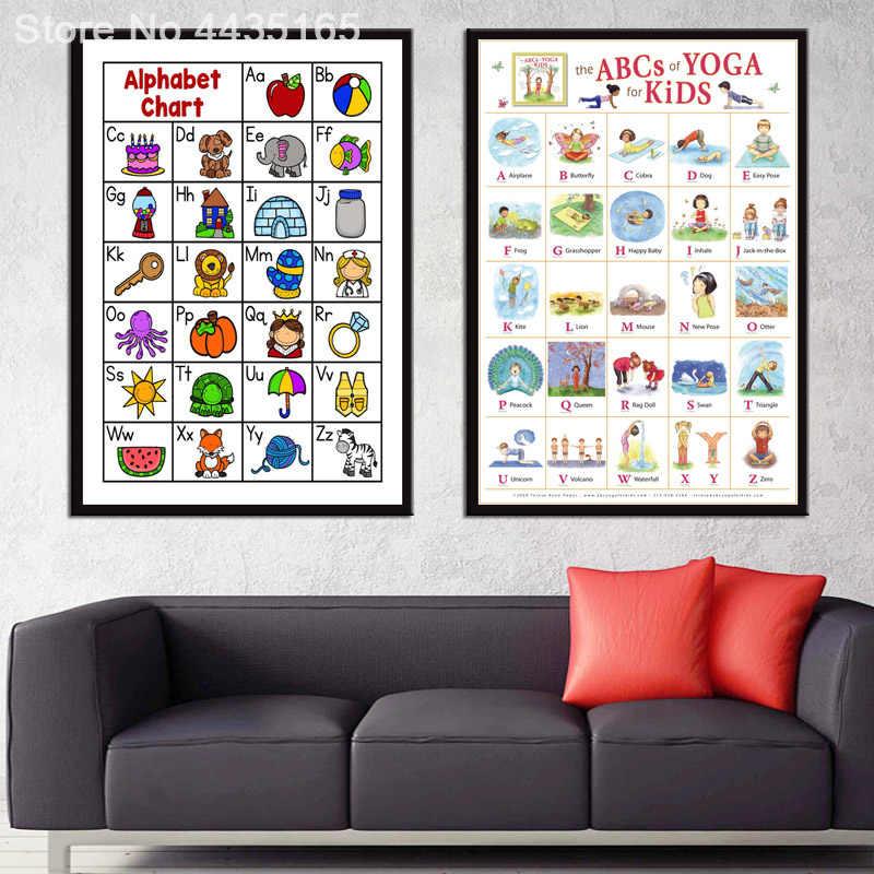 my abc alphabet poster