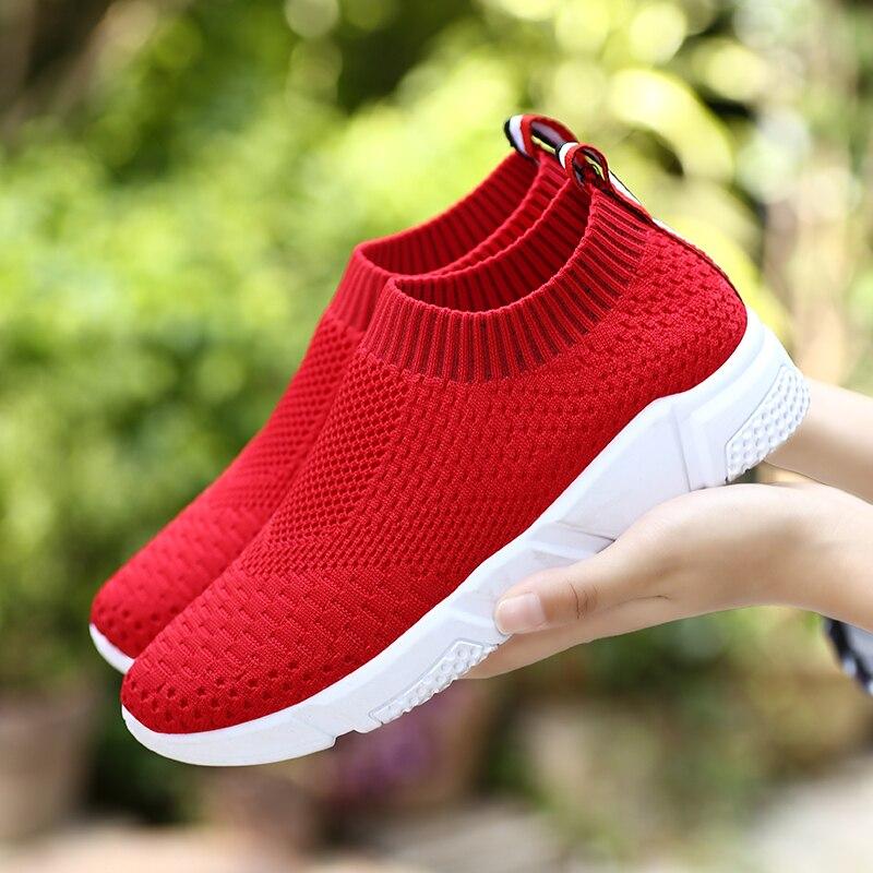 Mesh Sock Shoes Women