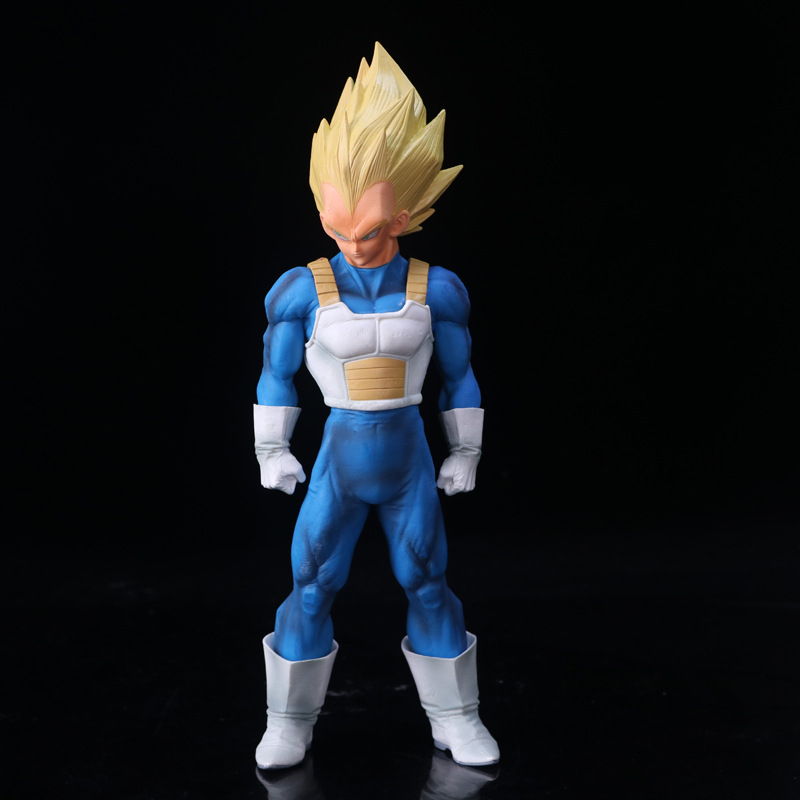Dragon Ball Z SMSP Super Master Stars Piece The Vegeta Blue Ver. PVC Action Figure Collectible Model Toys Doll 33cm dragon ball z black vegeta trunks pvc action figure collectible model toy super big size 44cm 40cm