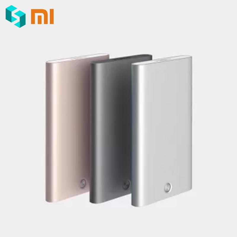 Original Xiaomi Business Mi  Card Case Xiomi ID Xaomi Card Holder Solid Xioami Aluminum Shell 3 Colors Silver Gold Dark