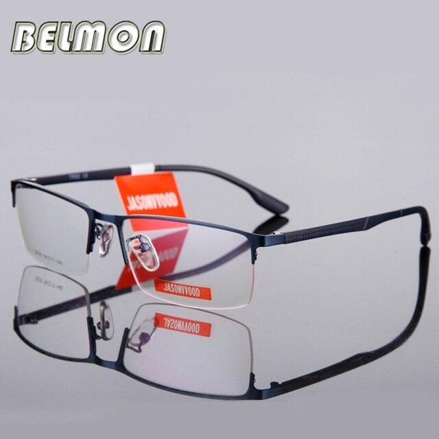 3a5cef4ce9 Espectáculo de gafas hombres computadora óptico miopía gafas de marco para  hombre transparente de Armação de