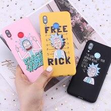 For Samsung S8 S9 S10 S10e Plus Note 8 9 10 A7 A8 Rick and Morty Memes Fan Cartoon Candy Silicone Phone Case Capa Fundas Coque