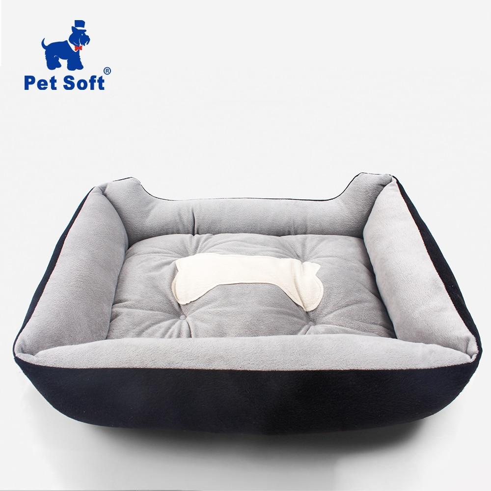 Pet Soft Pet Dog Bed Cartoon Pet Kennels Pad Waterproof Washable Pet House Mat Warm Soft Mattress Cat Bed