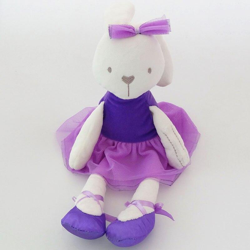 purple cloth rabbit