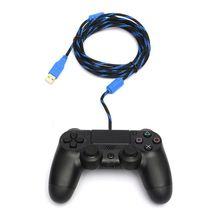 High Speed 300cm 10ft Micro USB To USB 2.0 Data Sync Charging Cable For PS4 For XBOX ONE Controller for Android Cellphone 4pcs lot cy7c68013a 100axc cy7c68013a ez usb fx2lp usb microcontroller high speed usb peripheral controller