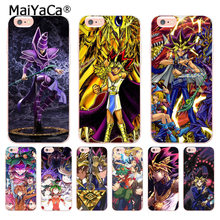 MaiYaCa Yu-Gi-Oh Luxury Hybrid phone accessories case for iPhone 6S 6plus 7 7plus 8 8Plus X 5 5S case(China)