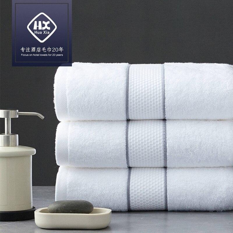 Free Shiping Hotel Cotton Towel Set Bath Towel Cotton Soft Super Absorbent 140*80cm About 560g High-grade Towel