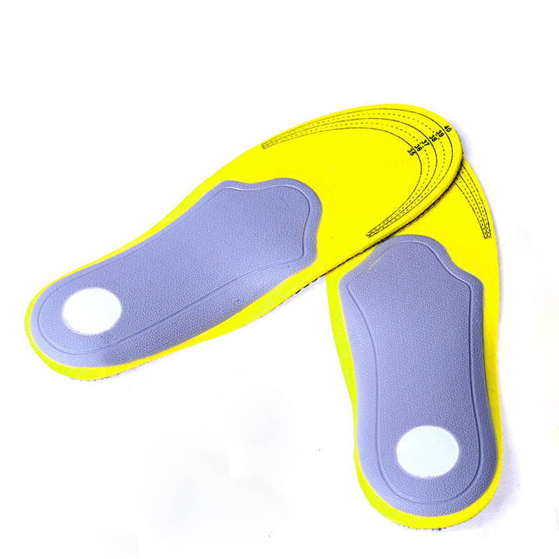 Factory Wholesale Feet Care Premium Women Men Comfortable Shoes Orthotic Insoles Inserts High Arch Support Pad Sport Running premium orthotic gel high arch support insoles eva pad 3d arch support flat feet for women men orthotic insole shoe inserts