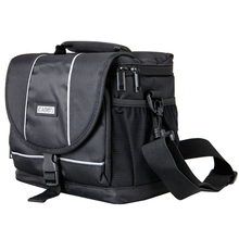 Camera Shoulder Bag Travel Outdoor Dust-proof Waterproof Nylon Messenger Bags with Shockproof Liner for Canon Sony Nikon цена и фото