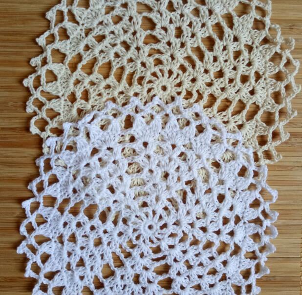 Best Deal Bc78 Vintage Round Lace Cotton Table Place Mat