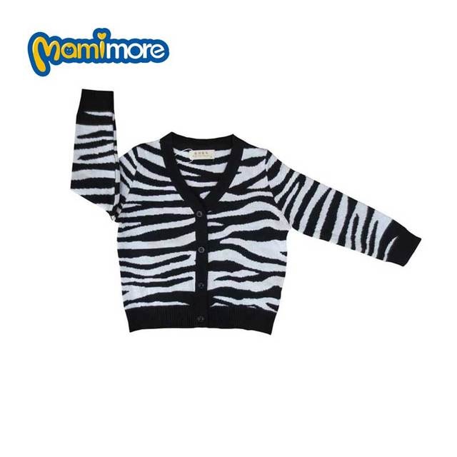59132bf22 Mamimore Striped Children Sweater For Girls Boys2017 New Fashion ...