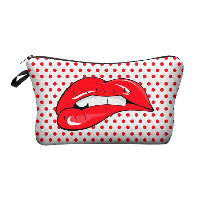 Jom Tokoy Printing Makeup Bags With Multicolor Pattern Cute Cosmetics Pouchs For Travel Ladies Pouch Women Cosmetic Bag 5