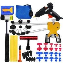 PDR инструменты для тела автомобиля безболезненный вмятин набор инструментов для ремонта вмятин Съемник обратный молоток присоска для удаления вмятин градом повреждения