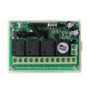 Image 2 - 4 канала постоянного тока, 12 В, 433 МГц, беспроводной выключатель дистанционного управления, интегральная схема с 2 передатчиками