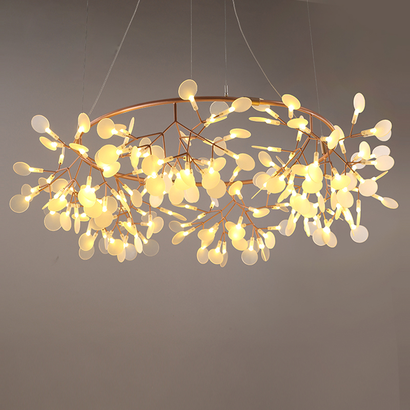 Modern LED hanging lights loft chandelier Nordic living room suspended lighting home deco fixtures restaurant pendant lamps|Chandeliers| |  - title=