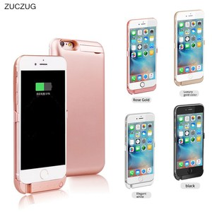 Wireless Back Clip Battery Charger Power Bank Case 5000mah Phone Holder For apple iPhone 5 5S 6 6s 7 6plus 6G 7 plus 5G 7plus i6