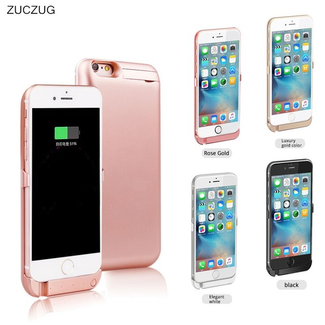 new product 577ea cb258 US $11.32 31% OFF Wireless Back Clip Battery Charger Power Bank Case  5000mah Phone Holder For apple iPhone 5 5S 6 6s 7 6plus 6G 7 plus 5G 7plus  i6-in ...
