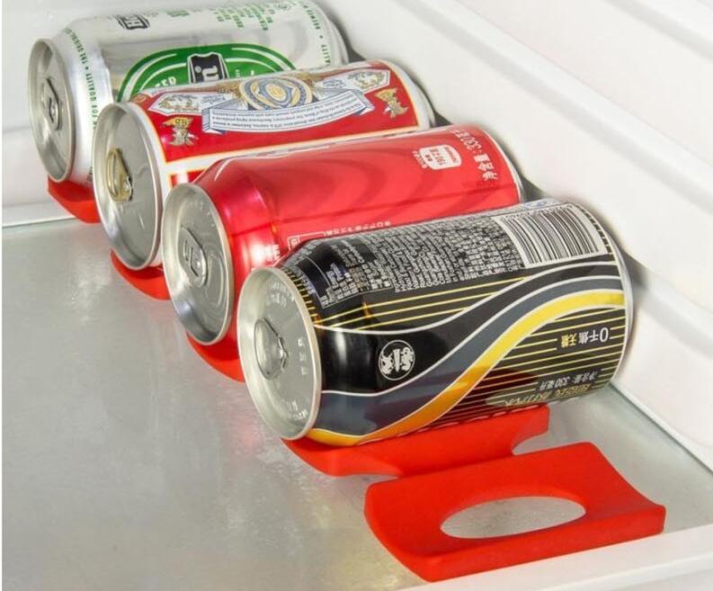 Kühlschrank Organizer Flaschen : Orgnaboo stÜck küche veranstalter silikon kühlschrank anti skid