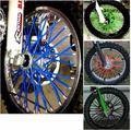 Moto 72 pcs para kawasaki kx 250 bicicleta da sujeira do motocross enduro ARO da roda FALOU COVERS SKINS Para WR250 KTM150 EXC450 250 kawasaki ktm
