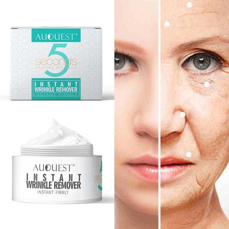 AuQuest Peptide 5 Seconds Wrinkle Cream Wrinkle Remove Facial Cream Firming Ageless Tighten Moisturizer Face Cream Skin Care