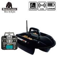 GPS Autopilota KINCARP Carpa Pesca doppio gancio V1 Bait Boat con batteria al litio 1500G Richiamo Barca 4 Tramogge