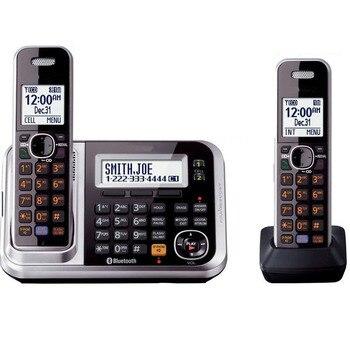 Беспроводной телефон DECT 6,0 Link-to-Cell Bluetooth с системой ответа на вызов идентификатор повторного набора голосовой почты стационарный телефон дл...
