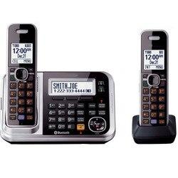 DECT 6,0 Ссылка к ячейки Bluetooth беспроводной телефон с автоответчиком Системы Call ID повторный набор Голосовая почта стационарный телефон для офи...