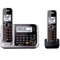 DECT 6,0 связь-к-Сотовый Bluetooth беспроводной телефон с автоответчик ID вызова повторный Dial voice mail стационарный телефон для домашнего офиса
