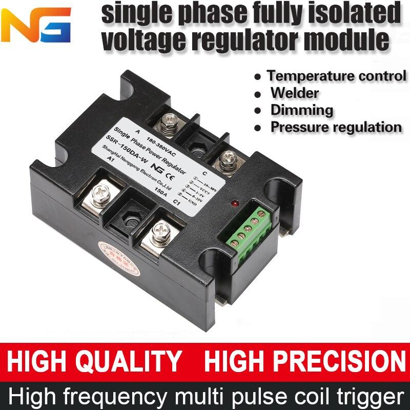 Single phase voltage regulator module isolating AC 150A SCR dynamometer thyristor power control heating shangghai Nenggong skkt106 16e 106a1600v scr thyristor module