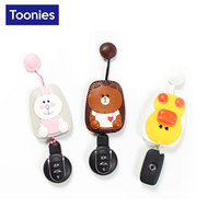 Lovely Hand Made Car Key Case Covers For All Cars Cute Cartoon Key Chain Case For