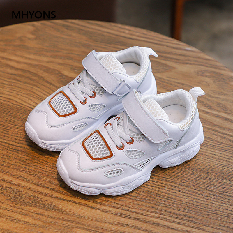 MHYONS Children Shoes Kids Boys Sneakers Spring Autumn Net Mesh Breathable Casual Girls Shoes Running Shoe For Kids Size 26 36|Sneakers| |  - title=