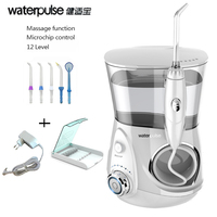 Waterpulse V660 Dental Water Flosser White Pro Oral Irrigator Dental Floss Irrigation Clean Massage Tooth Floss