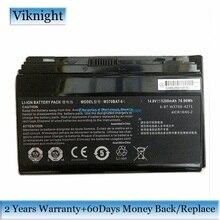 Genuine W370BAT 8 laptop Battery For Clevo P177SM A W350ET W350ETQ W350ST W370 W370BAT 8 Battery 6 87 W370S 4271 5200mAh 76.96Wh