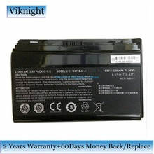 Genuino W370BAT 8 Batteria del computer portatile Per Clevo P177SM A W350ET W350ETQ W350ST W370 W370BAT 8 Batteria 6 87 W370S 4271 5200mAh 76.96Wh