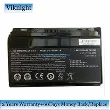 Véritable W370BAT 8 batterie dordinateur portable Pour Clevo P177SM A W350ET W350ETQ W350ST W370 W370BAT 8 BATTERIE 6 87 W370S 4271 5200mAh 76.96Wh
