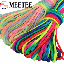 26meters 5mm Paracord Nylon 7 Stand Parachute Cord Lanyard Rope for Outdoor Climbing Camping Rope DIY Bracelet Cord